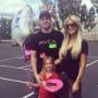 Christina, Tarek, Daughter