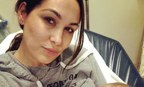 Brie Bella and Baby