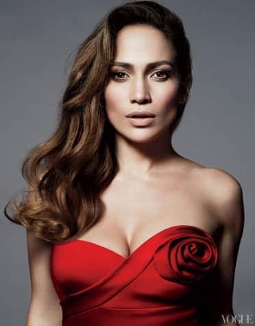 Jennifer Lopez in Vogue
