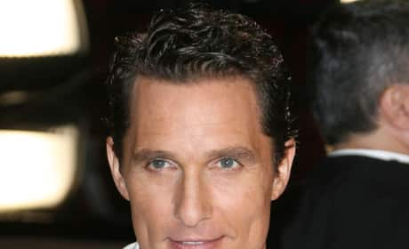Matthew McConaughey at the Oscars