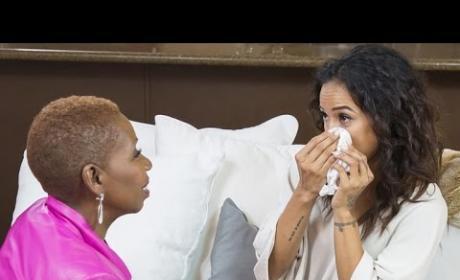 Karrueche Tran Reacts to Chris Brown Baby News
