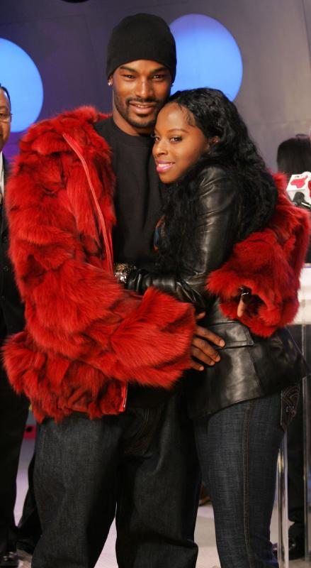 Foxy Brown and Tyson Beckford