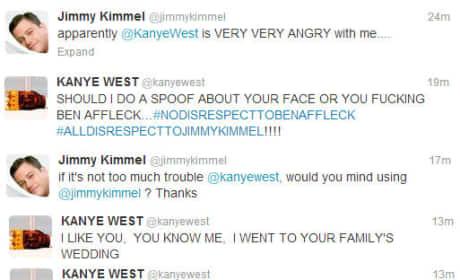 Kanye West - Jimmy Kimmel Twitter War