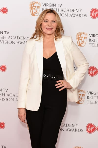 Kim Cattrall Red Carpet Pic