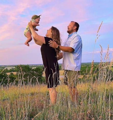 Anna Duggar, Child and Josh