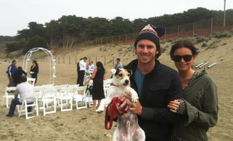 Ben Flajnik and Courtney Robertson Twitpic