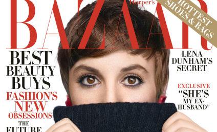 Lena Dunham: Topless in Harper's Bazaar!
