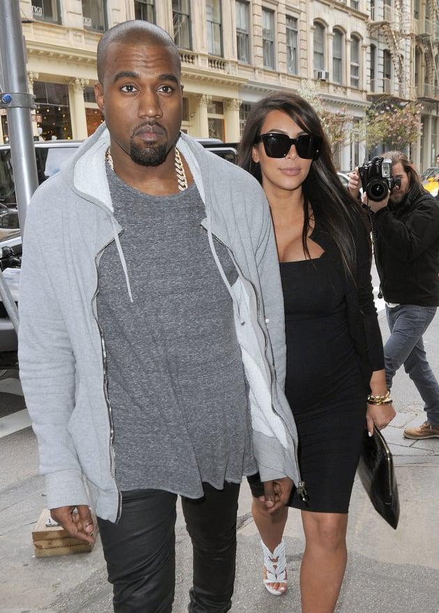 Kanye West in France