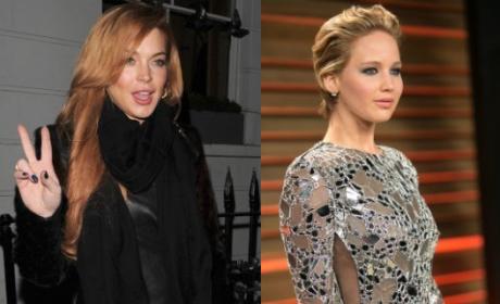 Lindsay Lohan: Jennifer Lawrence F--ks For Roles!