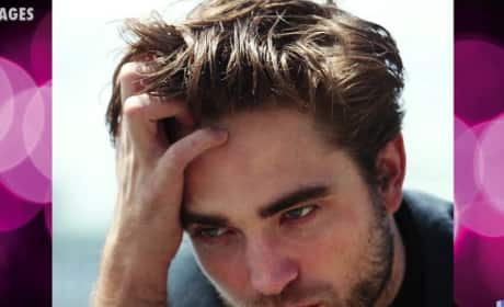Robert Pattinson Spotted with Mystery Girl