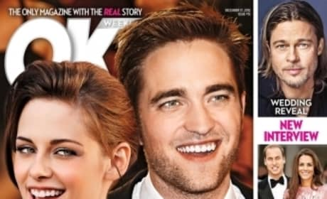 Robert Pattinson and Kristen Stewart OK! Cover