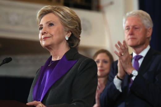 Hillary Clinton Concedes