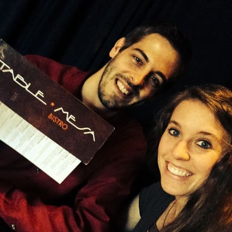 Derick Dillard and Jill Duggar on Instagram