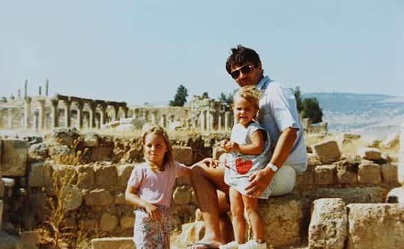 Kate and Pippa Middleton as Kids