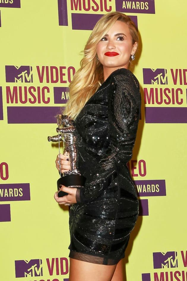 Demi Lovato as a Winner