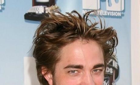 Robert Pattison Hair: Old