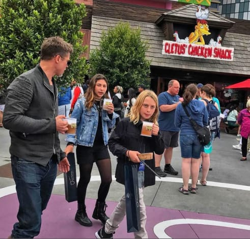 Brad Pitt and Chris Cornell's Kids