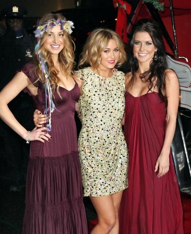 Whitney, Lauren and Audrina