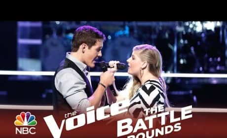 Jessie Pitts vs. Ryan Sill (The Voice Battle Round)