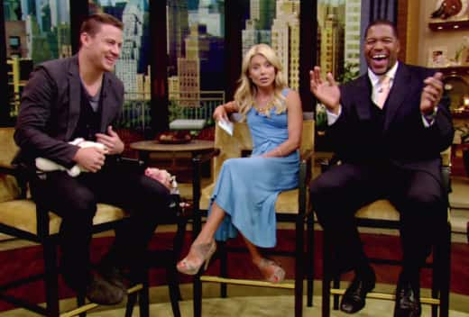 Michael Strahan and Kelly Ripa