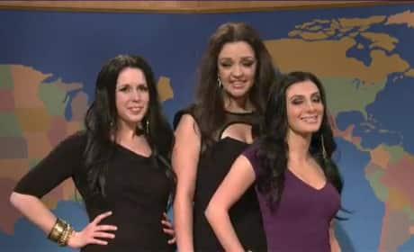 Kardashian Sisters on SNL