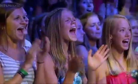 Jeffrey Gutt X Factor Audition