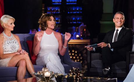 Luann on The Real Housewives of New York City Reunion