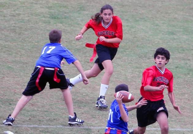 Paris Jackson, Football