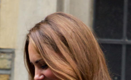 Kate Middleton Visits Middle Temple in London