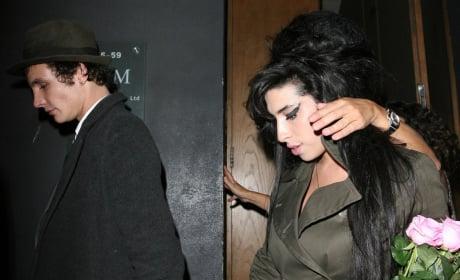 A Blake Fielder-Civil and Amy Winehouse Photo