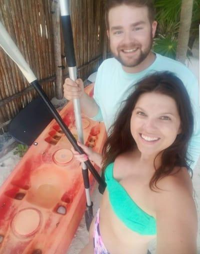 Amy Duggar Bikini with Dillon King