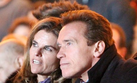 Maria Shriver and Arnold Schwarzenegger Pic