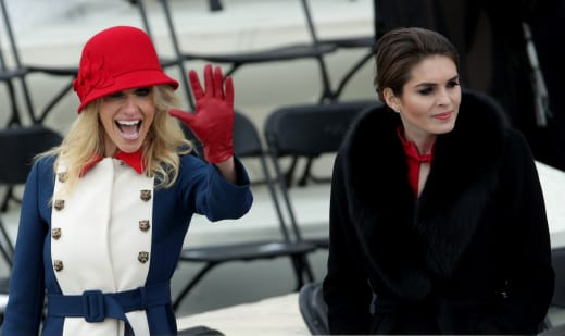 Hope Hicks and Kellyanne Conway