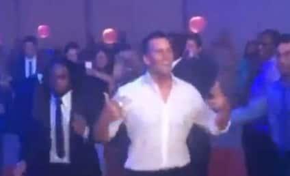 Tom Brady Dances (Horribly) at Super Bowl Ring Party