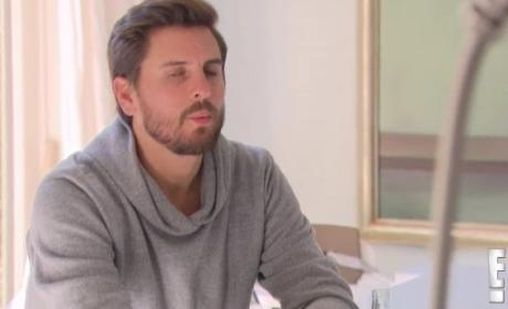 Scott Disick to Kourtney Kardashian: SHUT UP!