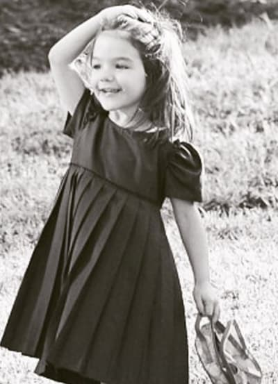 Suri Cruise as a Toddler