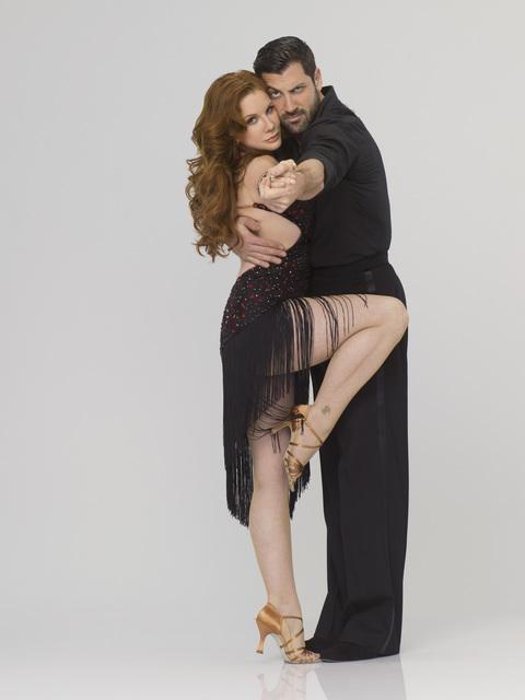 Melissa Gilbert and Maksim Chmerkovskiy