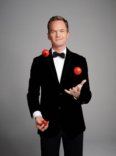 Neil Patrick Harris Red Nose Photo