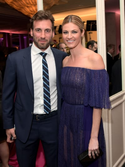 Jarret Stoll with Erin Andrews