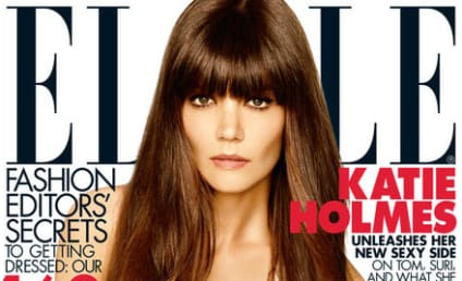 Katie Holmes Elle Cover Story: Signs of Tom Cruise Split?