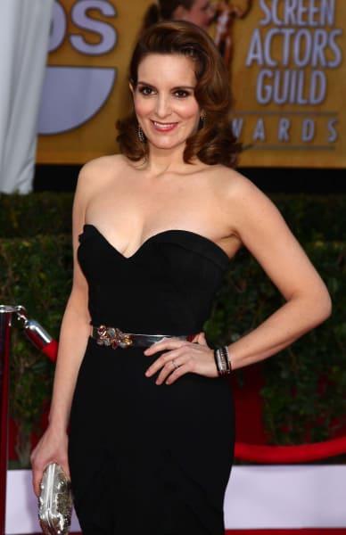 Tina Fey SAG Award Fashion