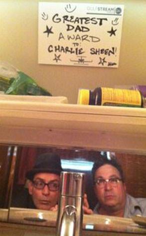 Charlie Sheen Greatest Dad Award