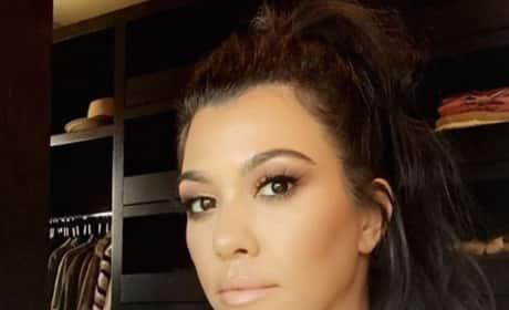 Kourtney Kardashian and Her Closet