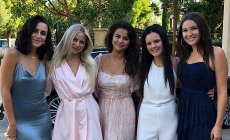 Selena Gomez, Italian Motif Party