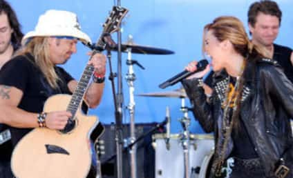 Bret Michaels to Miley Cyrus: Mega Congrats!