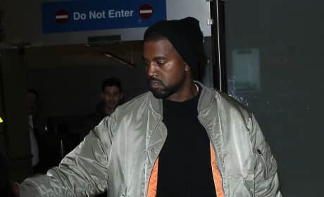 Kanye West & Lamar Odom at Yeezy Season 3
