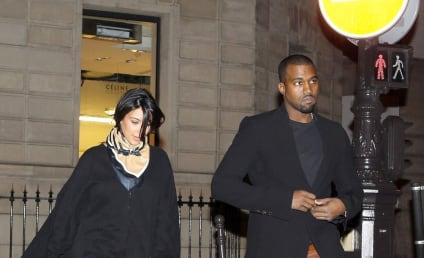 Kanye West and Kim Kardashian: Pictured in Paris!