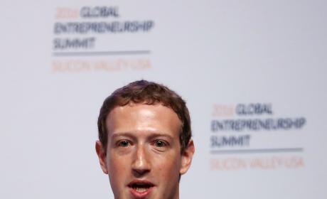 Mark Zuckerberg On Stage Photo