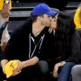Ashton and Mila Kiss