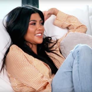 Kourtney Kardashian Laughs